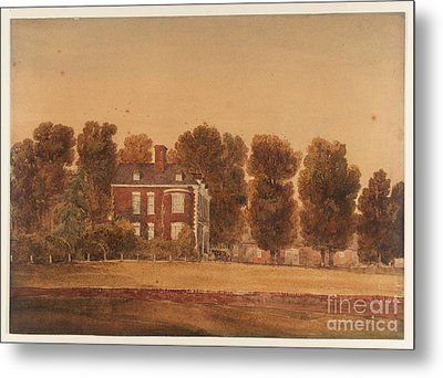 Sutton Coldfield Metal Print by MotionAge Designs