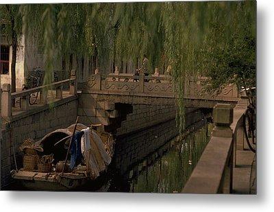 Suzhou Canals Metal Print