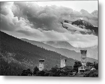 Svan Towers Metal Print