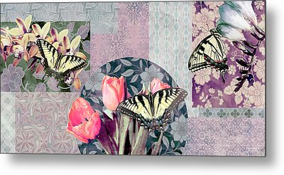 Swallowtail Butterfly 1 Metal Print by JQ Licensing