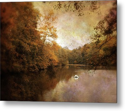 Swan Song II Metal Print by Jessica Jenney