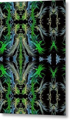 Sway Movement Art Metal Print