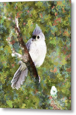 Sweet And Endearing Metal Print by Tina  LeCour