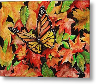 Sweet Autumn Metal Print