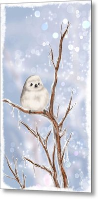 Sweet Cold Metal Print by Veronica Minozzi