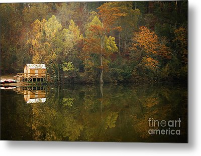 Metal Print featuring the photograph Sweet Home by Iris Greenwell