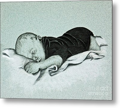 Sweet Innocence Metal Print by Terri Mills
