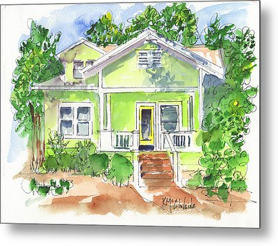 Sweet Lemon Inn Metal Print