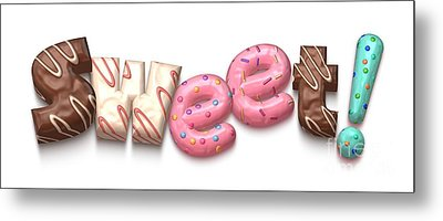 Metal Print featuring the digital art Sweet  by Mary Machare