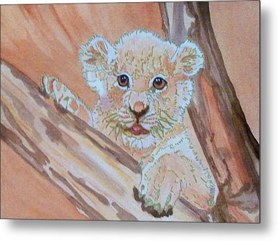 Metal Print featuring the painting Sweet One by Connie Valasco