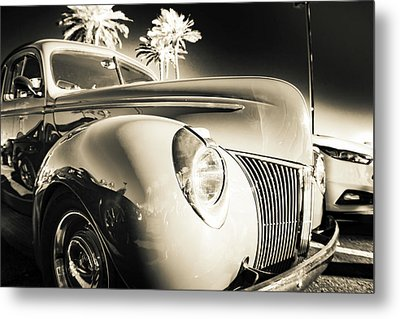 Sweet Sepia Metal Print by Mark David Gerson
