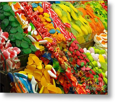Metal Print featuring the photograph Sweet Tooth by Sue Melvin