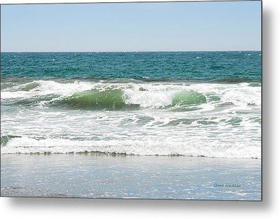 Swell Metal Print by Donna Blackhall