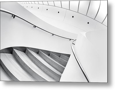Swinging Staircase Metal Print