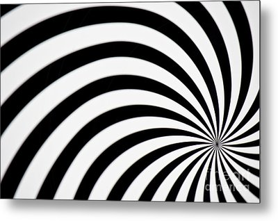 Swirl Metal Print by Angela Doelling AD DESIGN Photo and PhotoArt