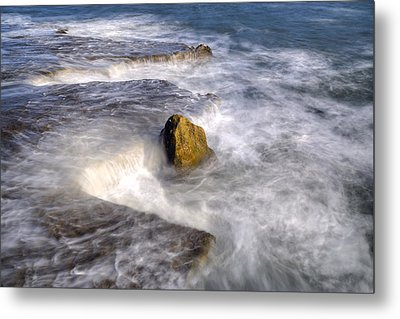 Swirly Water Metal Print by Joana Kruse