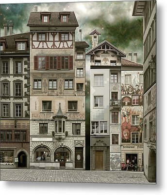 Swiss Reconstruction Metal Print