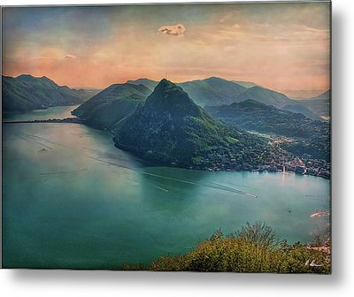 Metal Print featuring the photograph Swiss Rio by Hanny Heim