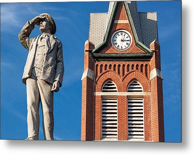Swiss Settlers Monument Metal Print