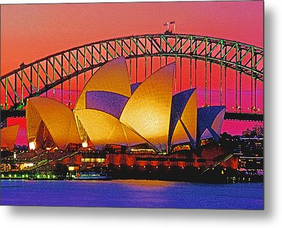 Sydney Architecture Metal Print by Dennis Cox WorldViews