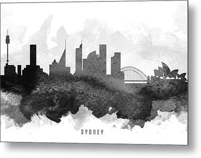 Sydney Cityscape 11 Metal Print by Aged Pixel