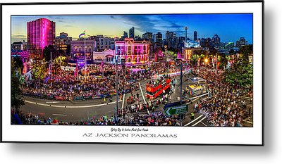 Sydney Gay And Lesbian Mardi Gras Parade Poster Print Metal Print by Az Jackson