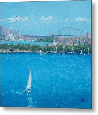 Sydney Harbour And The Opera House Vacation Metal Print