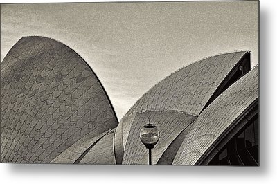 Sydney Opera House Roof Detail Metal Print