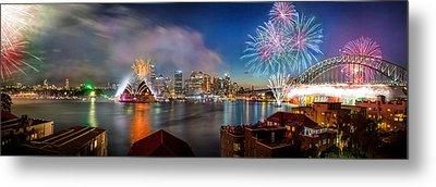 Sydney Sparkles Metal Print by Az Jackson