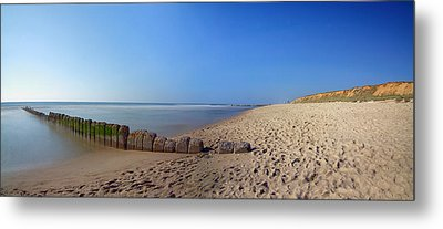Sylt Beach Metal Print by Marc Huebner