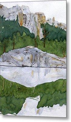 Sylvan Lake Metal Print by Heather Ahrens