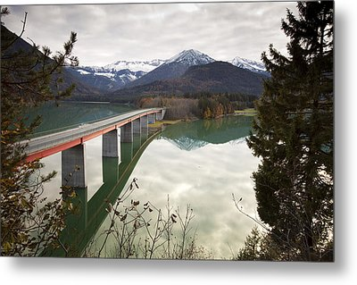 Sylvenstein Lake Metal Print by Andre Goncalves