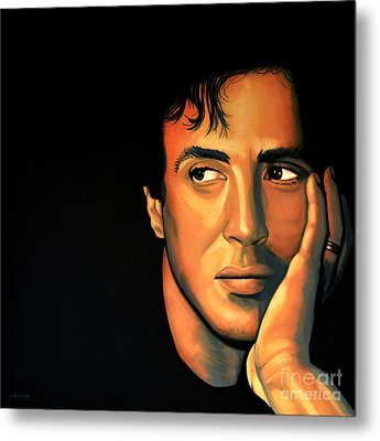 Sylvester Stallone Metal Print by Paul Meijering