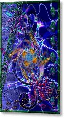 Symagery 20 Metal Print
