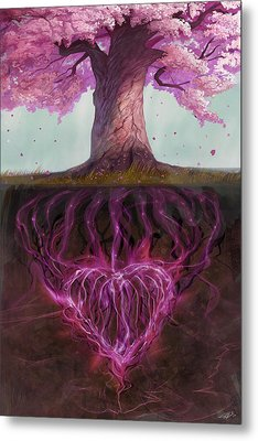 Symbolism Of Marriage Metal Print by Steve Goad