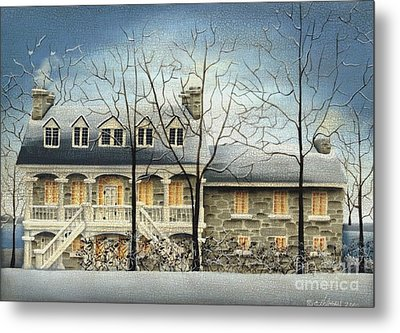 Symmes' Inn Metal Print by Catherine Holman