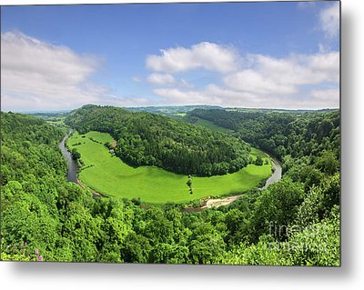 Metal Print featuring the photograph Symonds Yat, England by Colin and Linda McKie