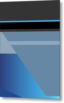 Symphony In Blue - Movement 1 - 1 Metal Print