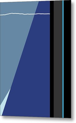 Symphony In Blue - Movement 3 - 3 Metal Print