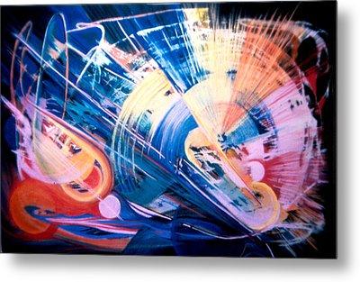 Symphony Of Color Metal Print