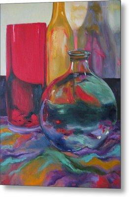 Symphony Of Vases Metal Print by Lisa Boyd