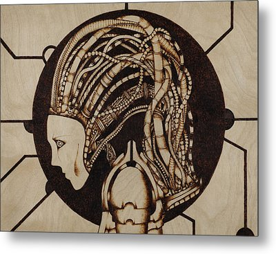 Synth Metal Print by Jeff DOttavio