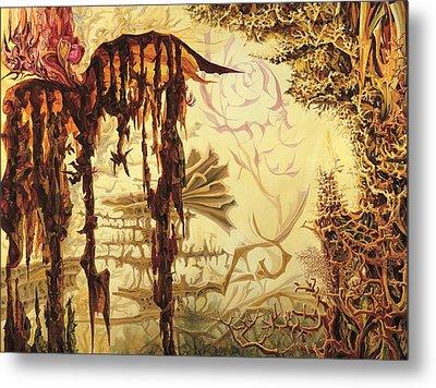 Szymanowski Landscape Metal Print