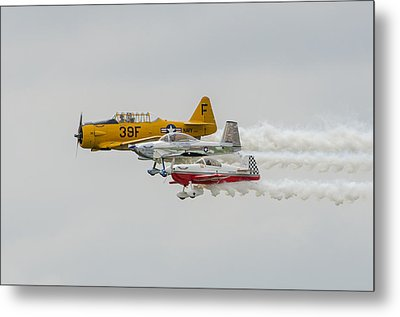 T-6 Texan   Rv-8   Dr-107 Metal Print