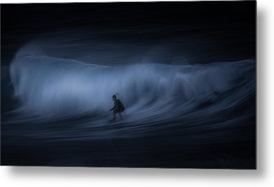 T E N S E Metal Print by Toby Harriman