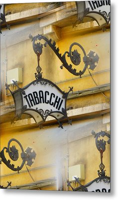 Tabacchi Metal Print by Joe  Geare