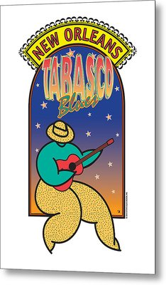Tabasco Blues Metal Print