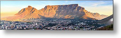 Metal Print featuring the photograph Table Mountain by Alexey Stiop