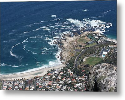 Metal Print featuring the photograph Table Mountain View by Andrei Fried