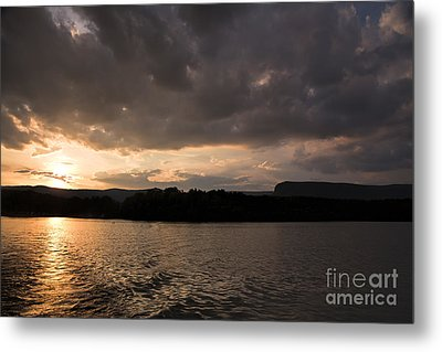 Table Rock Sunset Metal Print